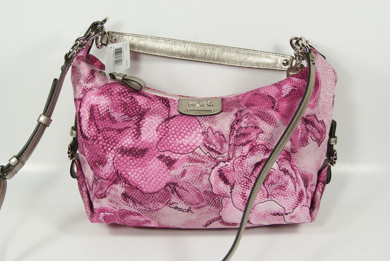 Pink Coach Madison Floral Hailey