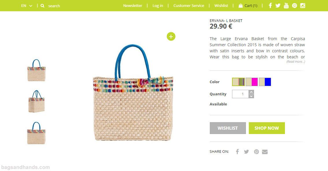 Carpisa handbags online