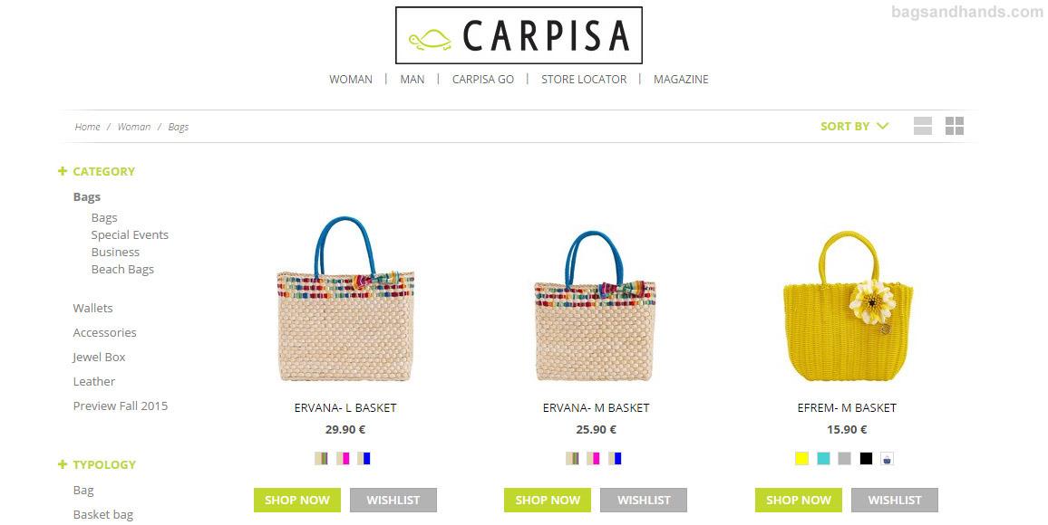 Carpisa online